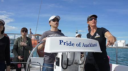 奧克蘭帆船駕駛