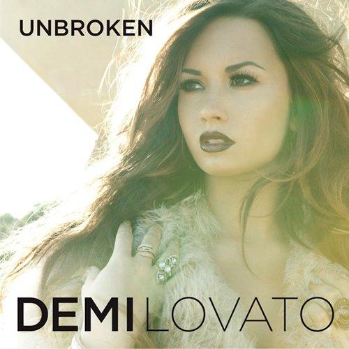 (New)Demi Lovato-Unbroken(New Album Cocer)黛咪洛瓦特最新專輯封面