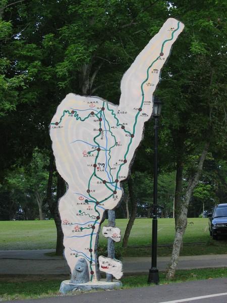 111東部地圖