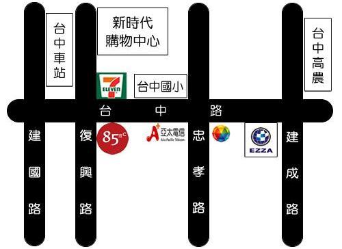 台中南區店new-地圖
