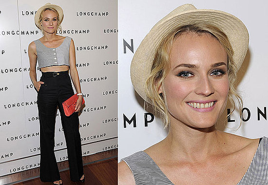 diane-kruger-stylechi-straw-hat-buttoned-up-striped-monochrome-sleeveless-crop-top-high-waisted-black-flared-trousers-open-toe-red-clutch.jpeg