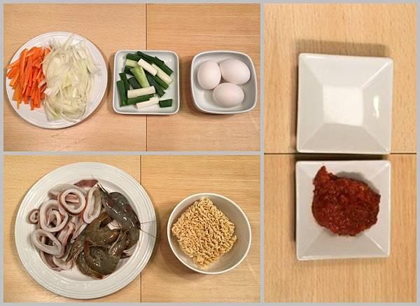泡麵海鮮煎餅材料.jpg