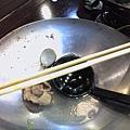 吃到一乾二淨的鍋子