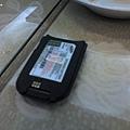 拍到沒電的電池Orz