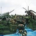 水族館的龍蝦