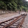 052_難得可以站在鐵軌上