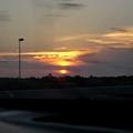 074_回程的夕陽