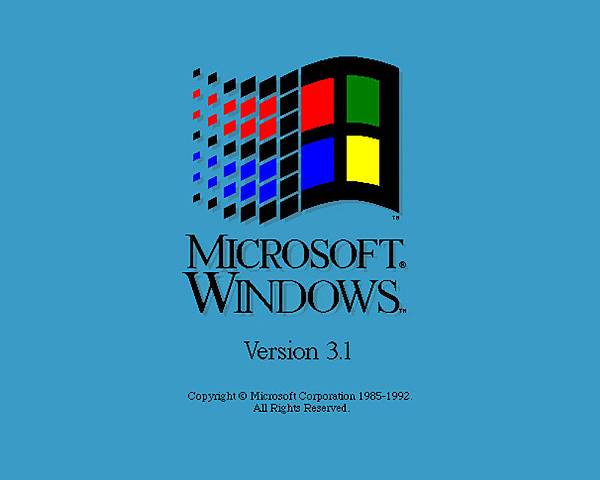 windows3.1開機畫面