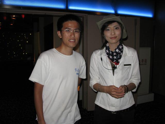 慶賢與店員