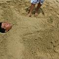 老梗的埋沙