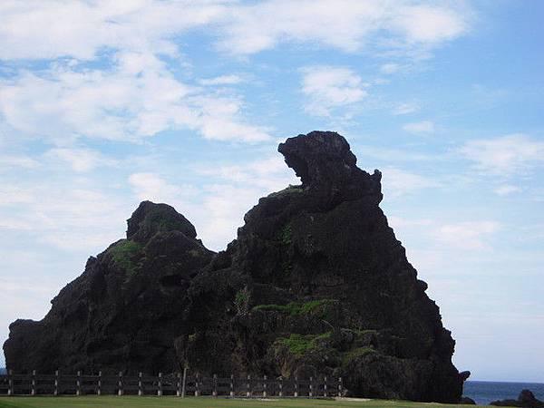 將軍岩和三峰岩