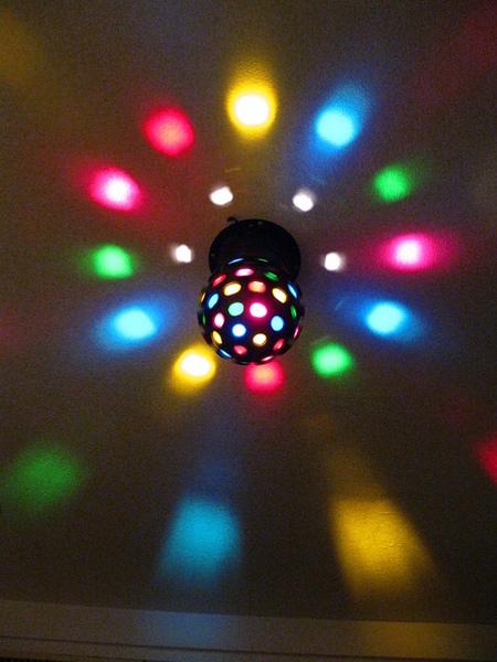 七彩霓虹燈