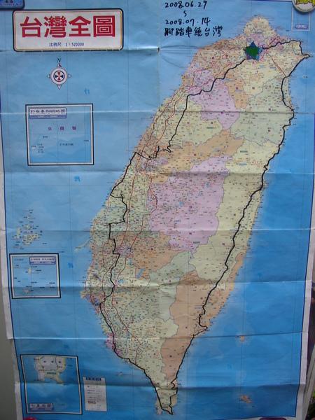 2008鐵馬繞台灣路徑圖.JPG