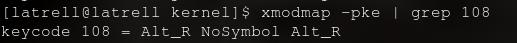 keycode108
