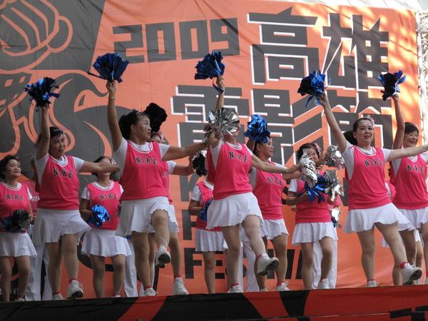 2009開幕 青春啦啦隊