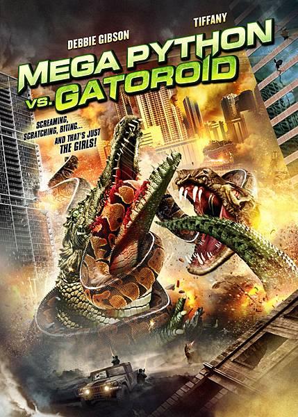 蟒蛇大戰巨鱷MEGAPYTHONkey