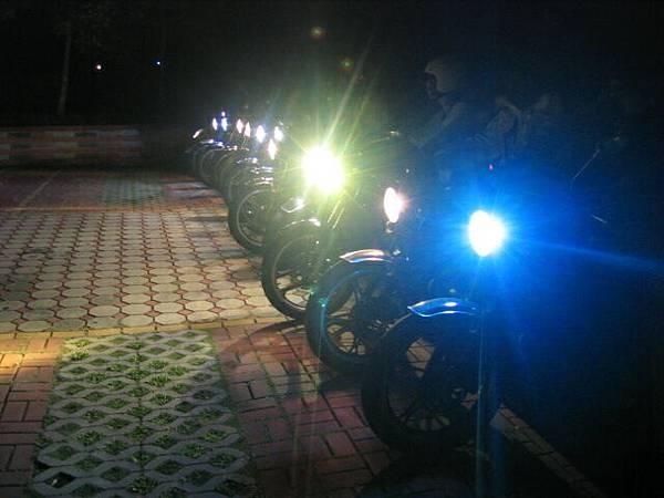 點綴的夜燈