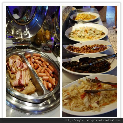 培根火腿腸醬菜