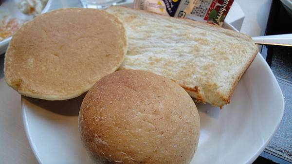 麵包好好吃!