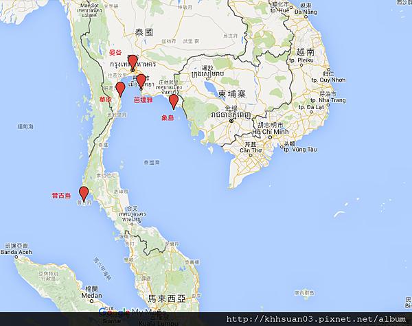 map bkk