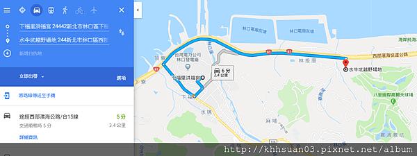 下福里map