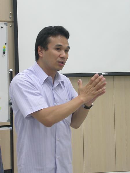 演講人:陳恆安老師