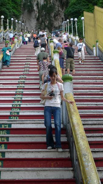 很小的階梯 很怕整各滾下來.jpg