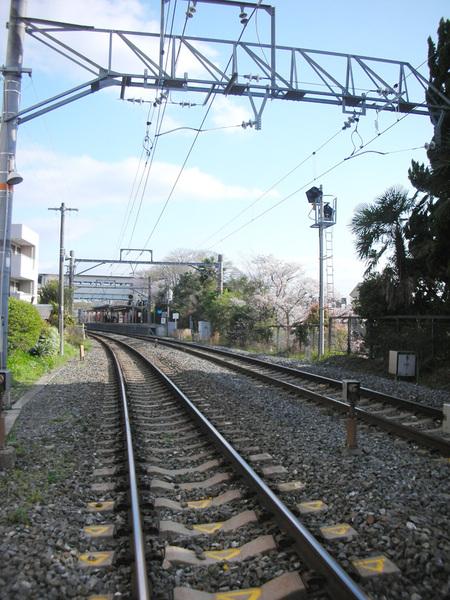 伏見稻荷大社旁的鐵路.jpg