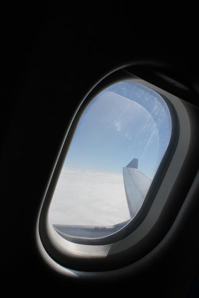 1123 飛機上