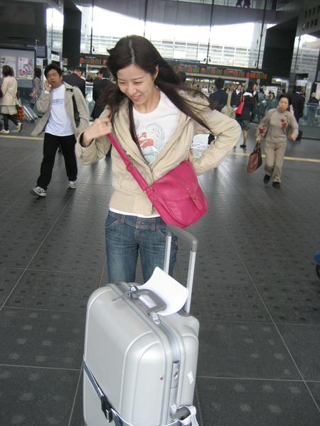 一出京都車站冷風吹來.jpg