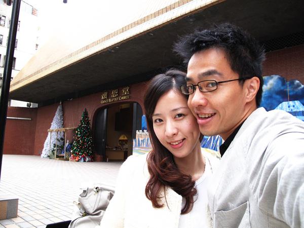 20091129_跟懷恩堂聖誕節裝飾拍一張.jpg