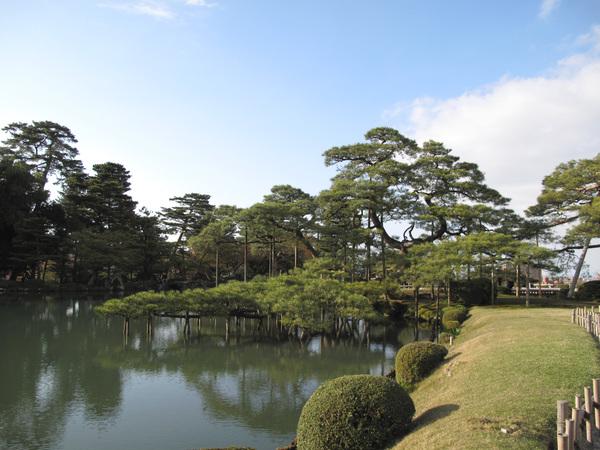 這個霞ヶ池是人工挖掘的  日本人的人工造景果然厲害.jpg