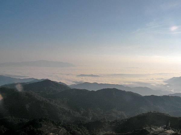 雲頂高原的雲海