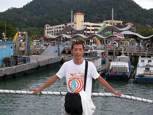 龍目碼頭-前往邦喀島船上