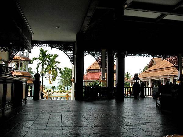 邦喀島上的-Teluk Dalam Resort的大廳
