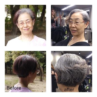 剪短髮 媽媽