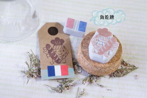 blog法國麵包女孩祈願瓶2