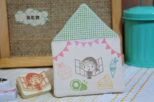 blog歡樂小屋刻章杯墊1