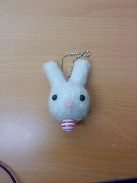 羊毛氈(兔子)