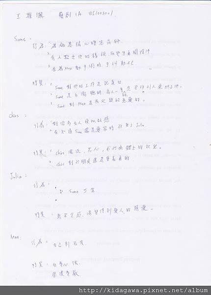 戲劇賞析 藝創1A 王雅儷