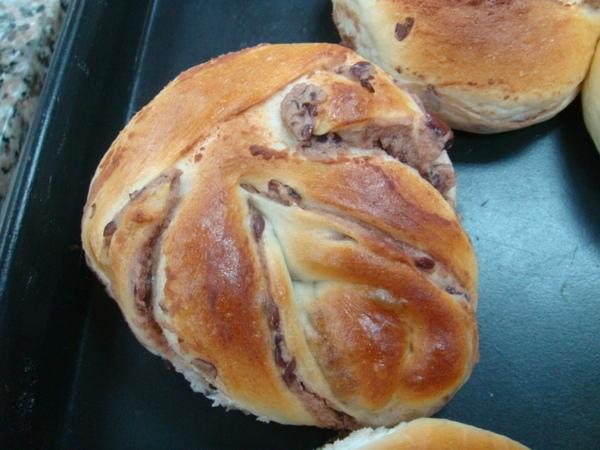 造形紅豆麵包
