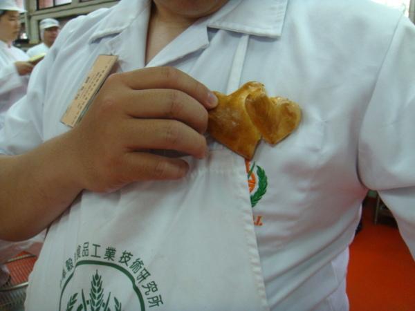 麵包代表我的心