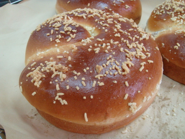 卡士達麵包完成版