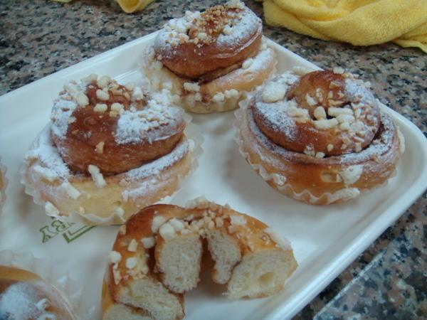 美式甜麵包2號-肉桂捲