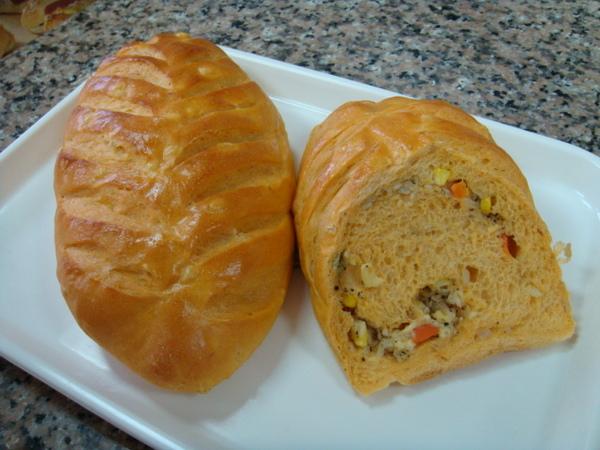湯種蔬菜乳酪麵包