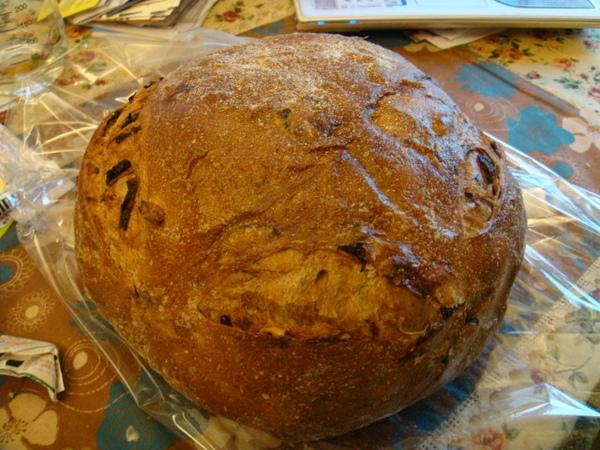 酒釀桂圓大麵包