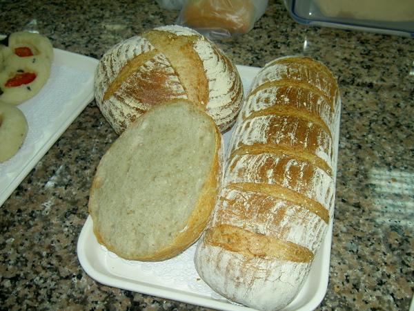 鄉村麵包完成版