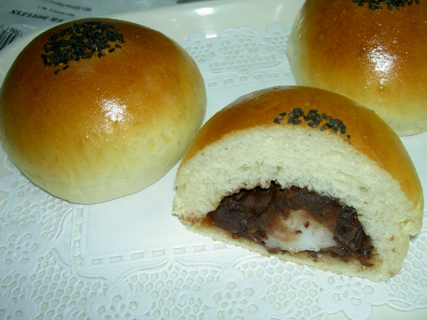 酒種紅豆麻吉麵包