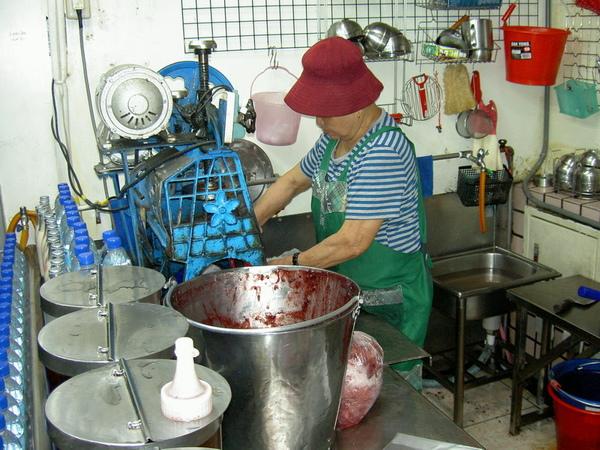 阿媽做紅豆冰