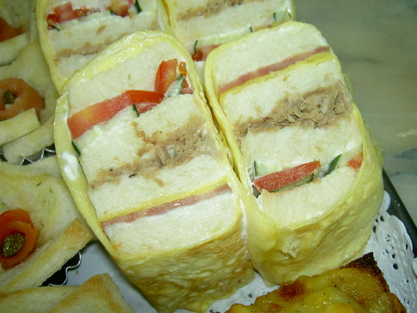 蛋皮壽司三明治